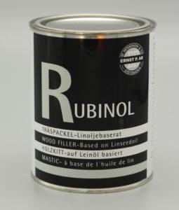 Rubinol 1,5 kg plåtburk med linoljespackel