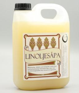 Dunk med 2.5 liter linoljesåpa
