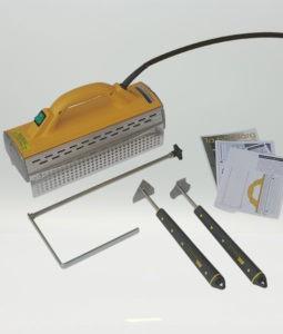 Bild på allt som ingår i speedheater standard kit