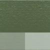 Linoljefärg i thottgrön nyans. blandad med vit titan zink