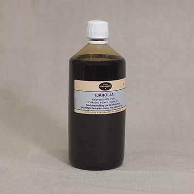 tjärolja flaska 1 liter