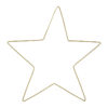 stomme i mässing formad som en stjärna