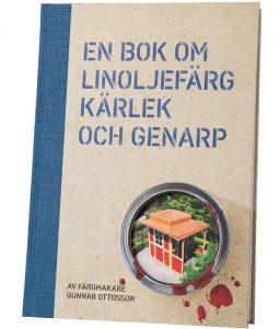omslag på bok om linoljefärg